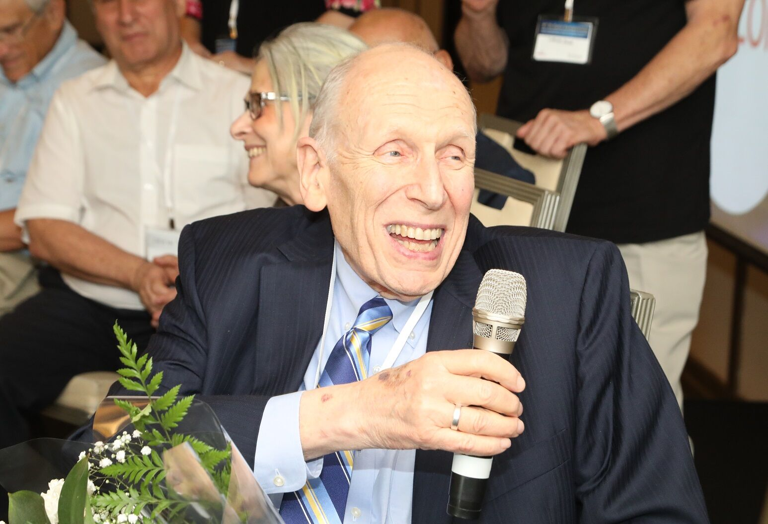 Dr. Jesse Roth was recently honored at D-Cure in Israel. Photo Credit: Shmulik Shalish