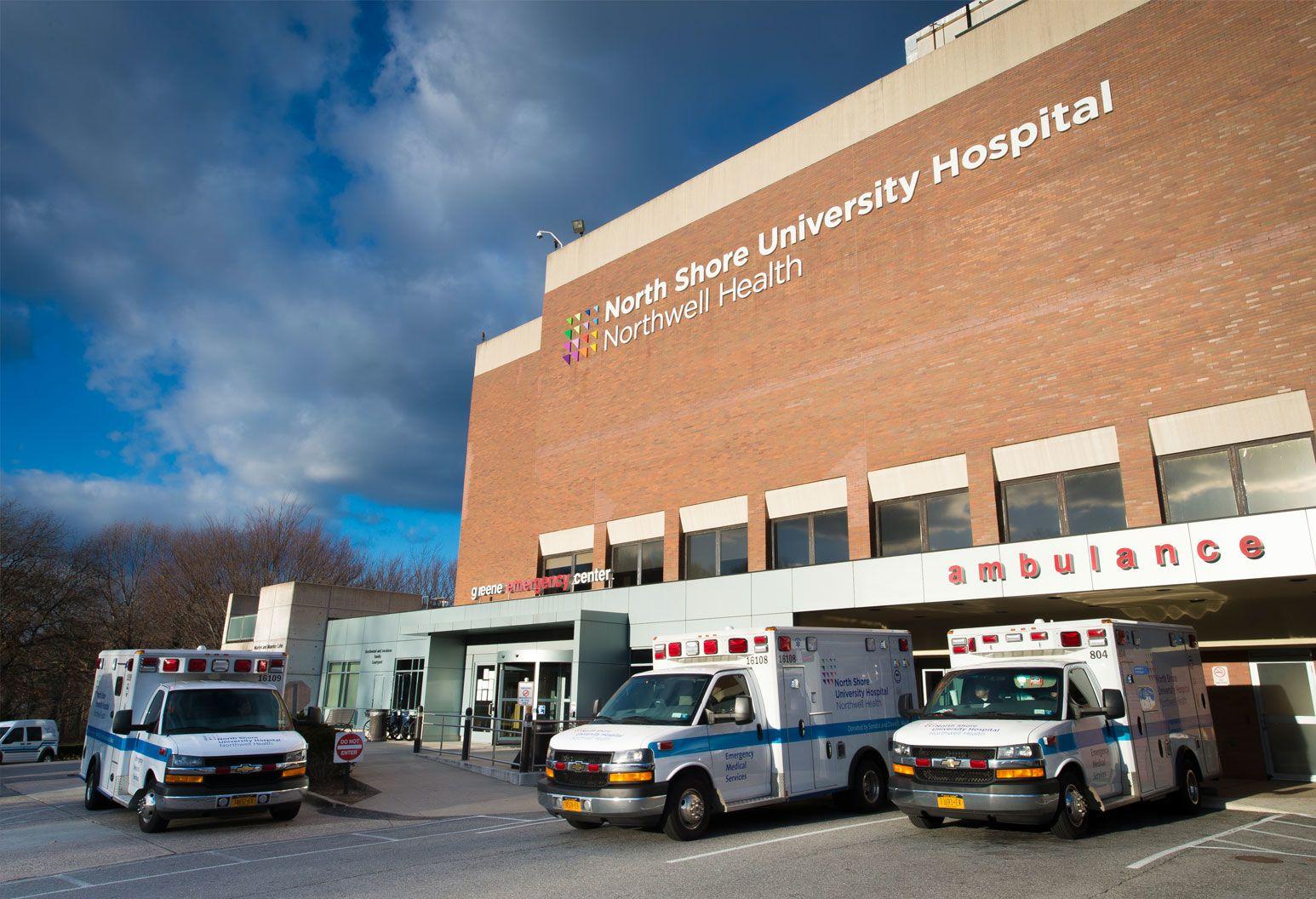 Outside North Shore University Hospital