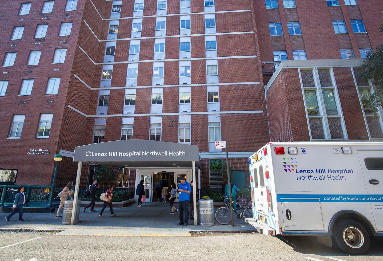 Lenox Hill Hospital.