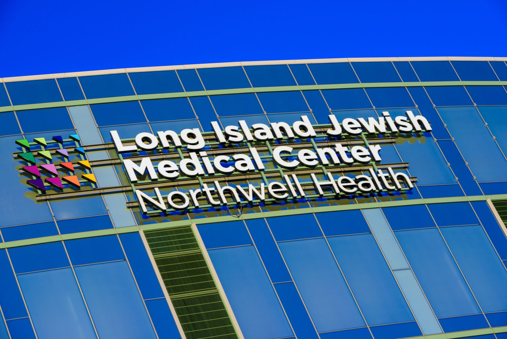 Outside Long Island Jewish Medical Center