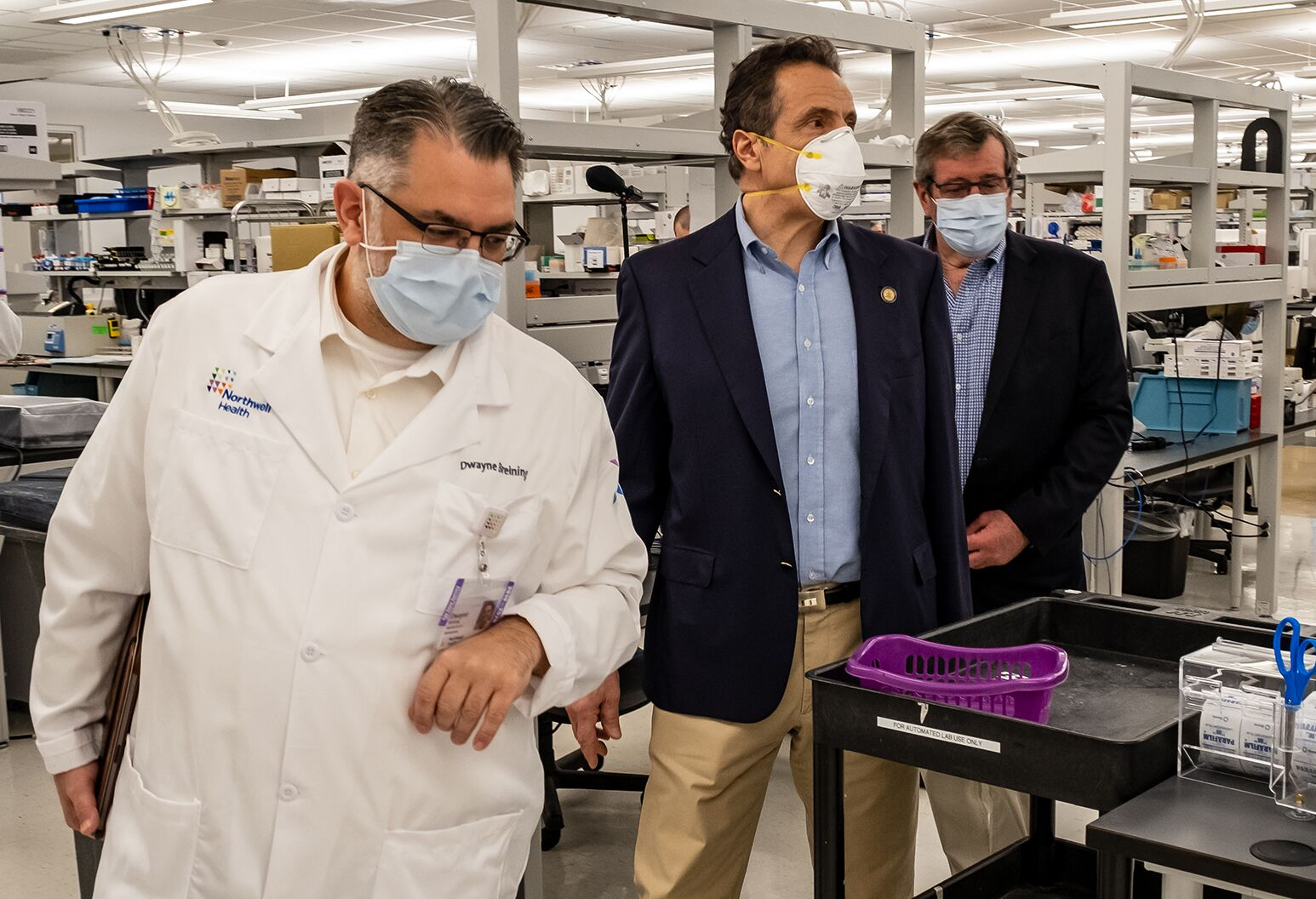 Governor Cuomo Announces New York State Establishes Two Church Testing Sites In Houston Covid 19 Hot Spots Northwell Health