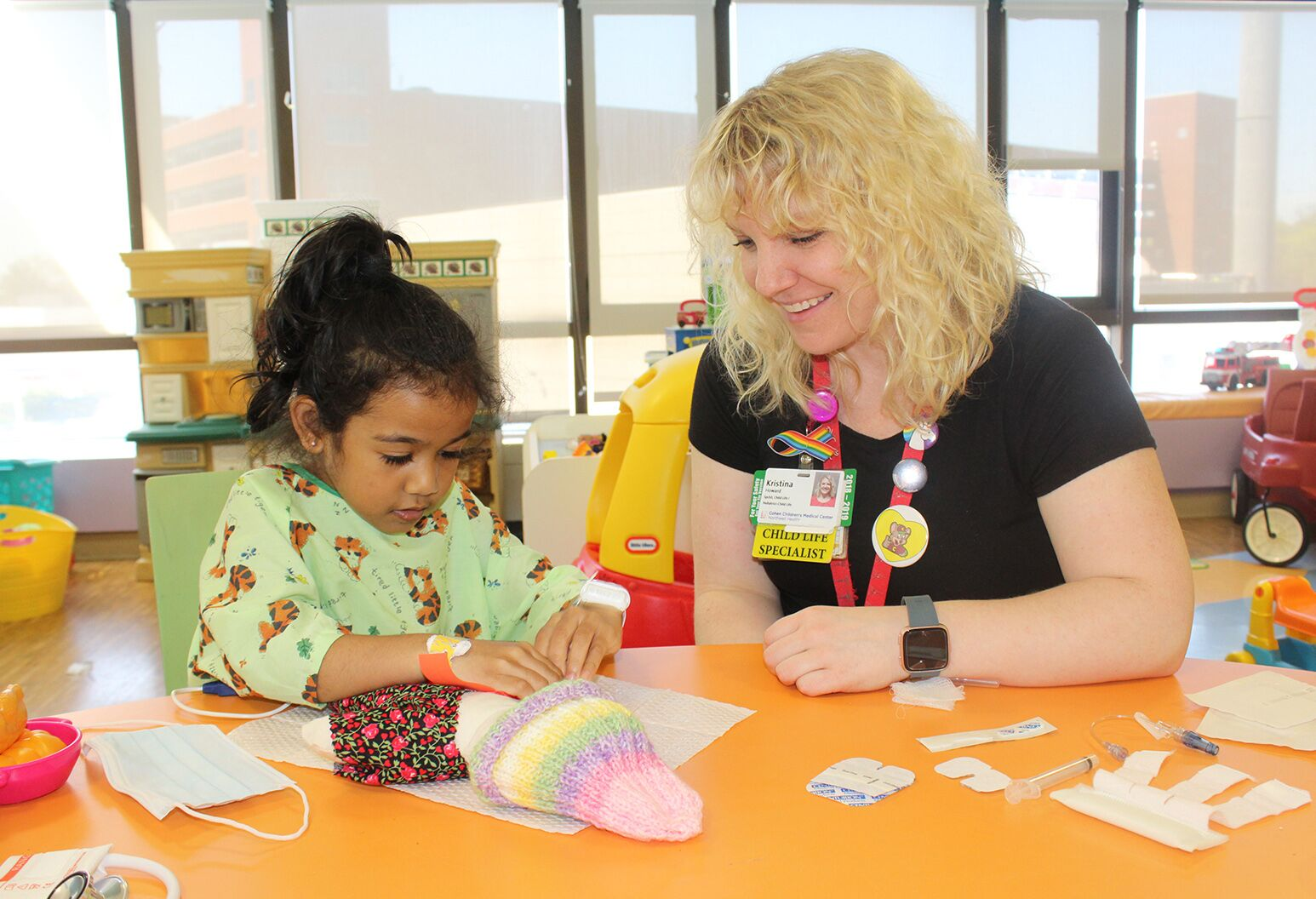 Child Life And Creative Arts Therapy Program