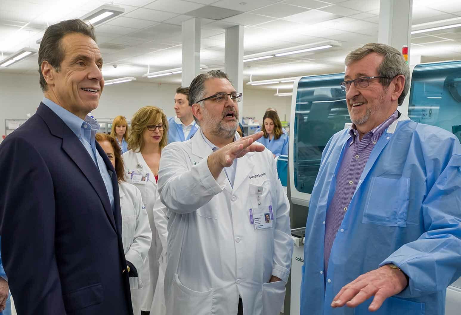 Northwell Labs Begins Manual Testing Of Covid 19 Samples Northwell Health